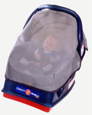 Maxi Cosi Car Seat Sun Shade Wind Cover