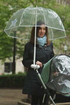 Adult Stroller Rain Umbrella from Sasha's