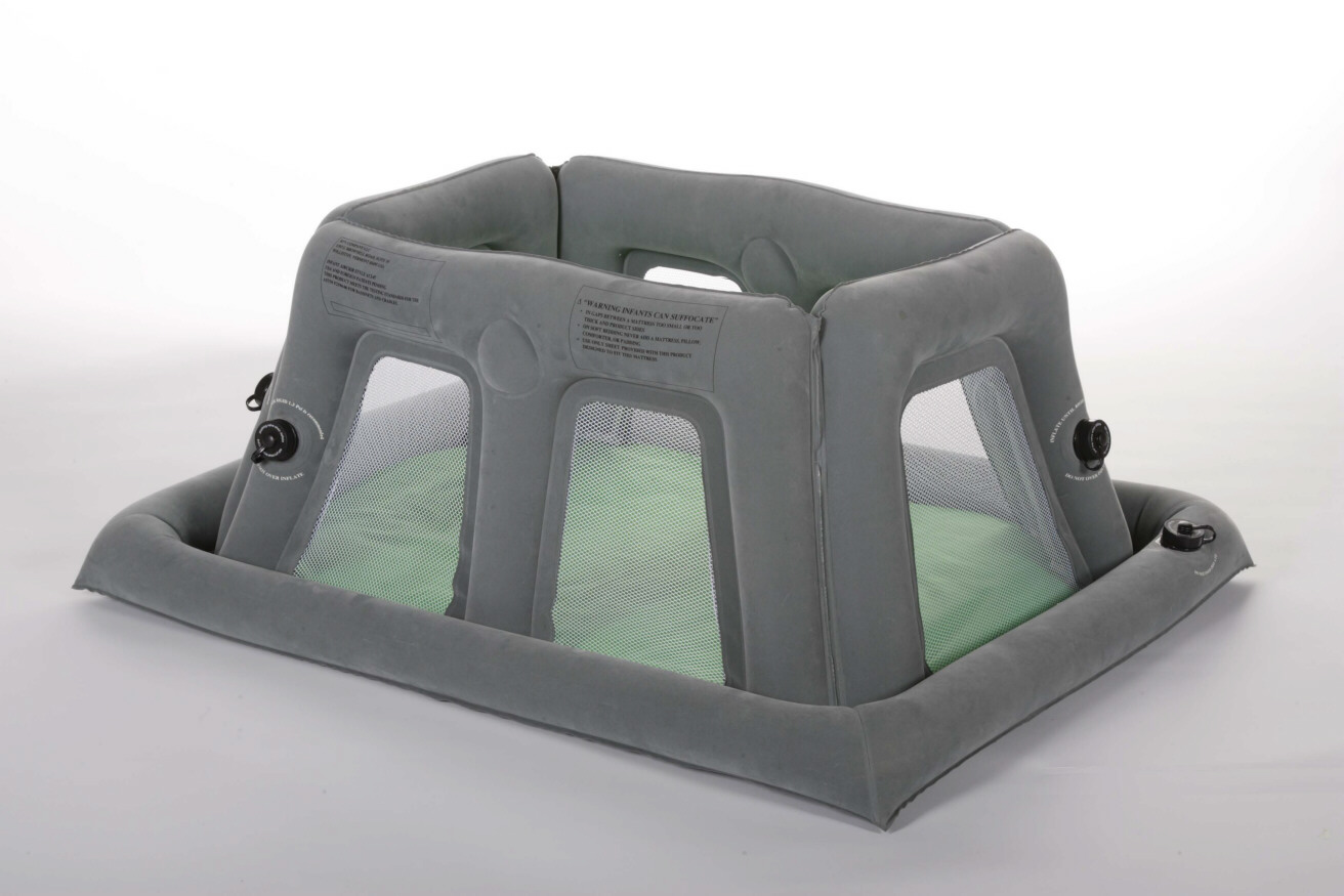 Aircrib Portable Inflatable Travel Crib From Sasha S