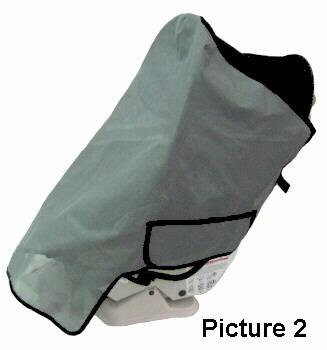 Booster Seat SunShade WFull401JPG