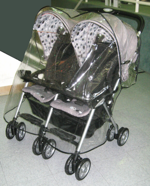 Combi Twin Sport Ex Stroller: Combi Stroller Rain And Wind Covers From Sasha's