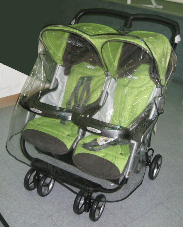 Peg Perego Rain and Wind Covers from Sasha's - (888) 640 0917