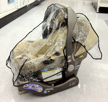 Summer Prodigy Car Seat Sun and Wind Cover from Sasha's - (888) 640