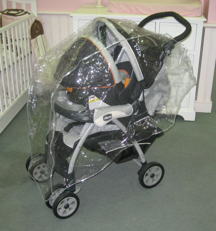 Tandem Stroller Rain and Wind Cover from Sasha's - (888) 640 0917